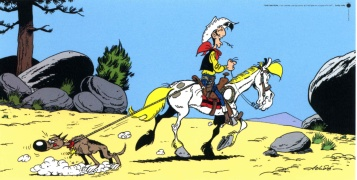 05815 COMIC, ACHDE LUCKY LUKE & RAN TAN PLAN 50X100 - 05816 25X50
