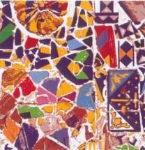 Láminas Mosaicos Gaudi Barcelona MamamgraF