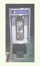 GRABADO CABINA TELEFONO 54X92 Láminas mamagraf ritasmile bcn decoración