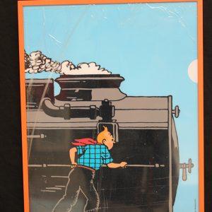 Cuadro_Tintin_Tren_32x22_News_precio_18_euros