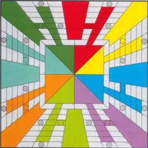 STT53 Parchis_lamina_100x100_Arly_Jones_Pop_Art_Producto_trending_categoria_lamina_pop_art_precio_10_euros